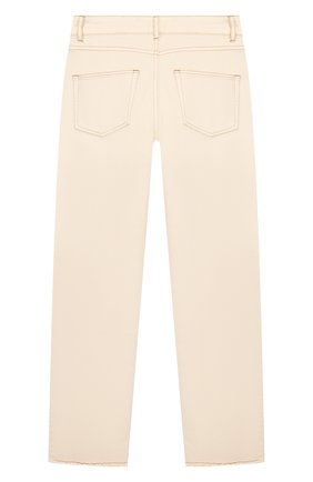 Детские джинсы INDEE бежевого цвета, арт. GLADYS/ICE/12A-18A | Фото 2