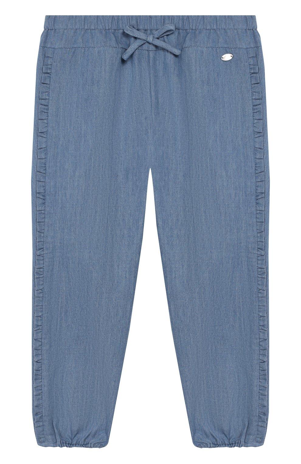 Детские джинсы TARTINE ET CHOCOLAT синего цвета, арт. TQ22021/4A-5A | Фото 1