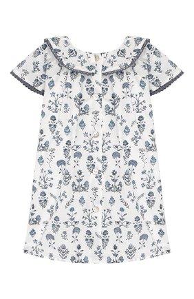 Женский хлопковое платье TARTINE ET CHOCOLAT белого цвета, арт. TQ30041/1M-1A | Фото 2