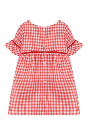 Женский хлопковое платье TARTINE ET CHOCOLAT кораллового цвета, арт. TQ30061/1M-1A | Фото 2