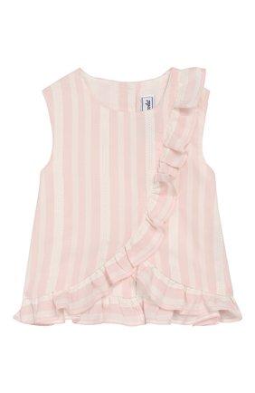 Детский комплект из топа и шорт TARTINE ET CHOCOLAT розового цвета, арт. TQ37031/1M-1A | Фото 2