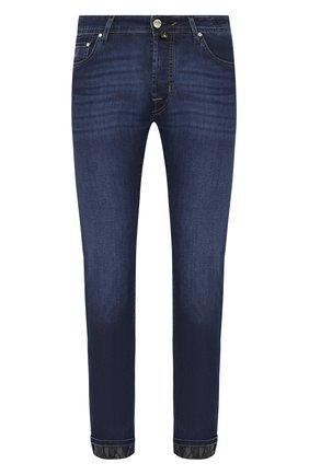 Мужские джинсы JACOB COHEN темно-синего цвета, арт. J688 C0MF 01843-W1/53 | Фото 1