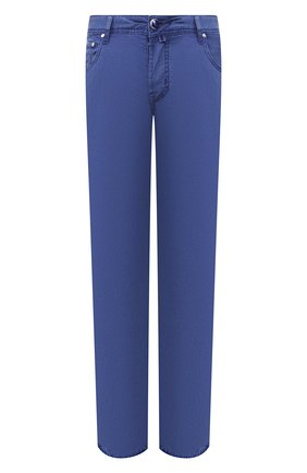 Мужские джинсы JACOB COHEN синего цвета, арт. J688 C0MF 01830-V/53 | Фото 1