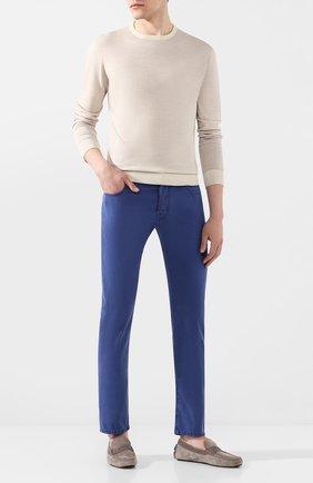 Мужские джинсы JACOB COHEN синего цвета, арт. J688 C0MF 01830-V/53 | Фото 2