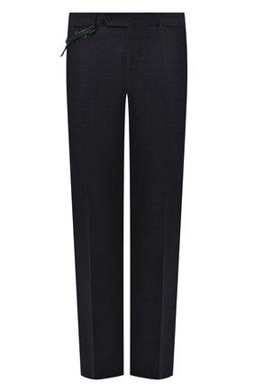 Мужской шерстяные брюки BERWICH темно-синего цвета, арт. SC/1 ALC/VB6954 | Фото 1