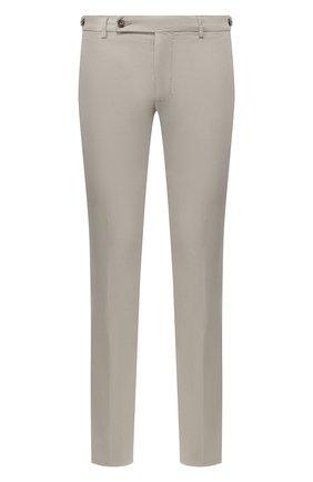 Мужской брюки из смеси хлопка и шелка ANDREA CAMPAGNA светло-серого цвета, арт. SC/1 FIBB/BN0002BX   Фото 1