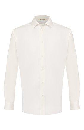 Мужская хлопковая рубашка 1017 ALYX 9SM белого цвета, арт. AAMSH0022FA06   Фото 1