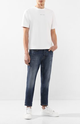 Мужская хлопковая футболка 1017 ALYX 9SM белого цвета, арт. AAMTS0139FA01   Фото 2