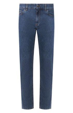Мужские джинсы CANALI синего цвета, арт. 91755R/PD00464 | Фото 1