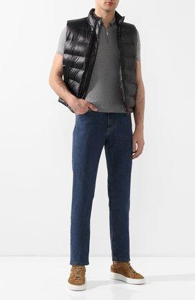 Мужские джинсы CANALI синего цвета, арт. 91755R/PD00464 | Фото 2