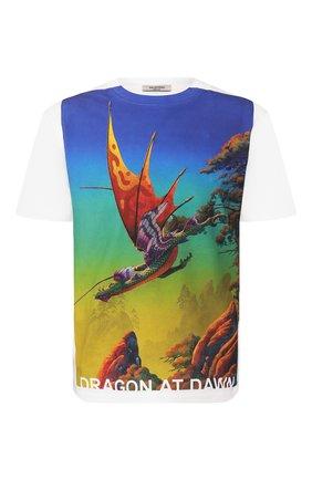 Мужская хлопковая футболка VALENTINO разноцветного цвета, арт. TV0MG06L691 | Фото 1
