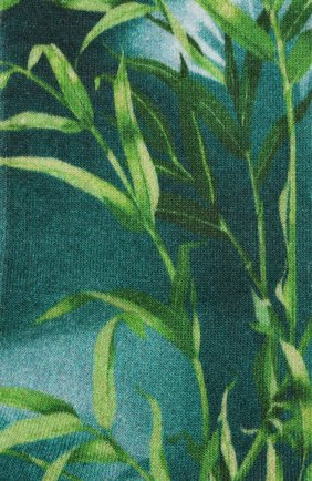 Мужские хлопковые носки VERSACE зеленого цвета, арт. ICZ0003/A234901 | Фото 2