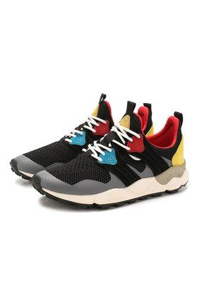 Мужские комбинированные кроссовки FLOWER MOUNTAIN разноцветного цвета, арт. 0012014760.02   Фото 1