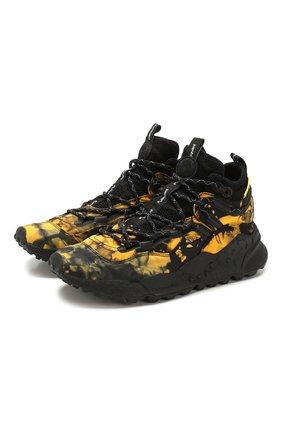 Мужские кроссовки FLOWER MOUNTAIN желтого цвета, арт. 0012014766.04 | Фото 1