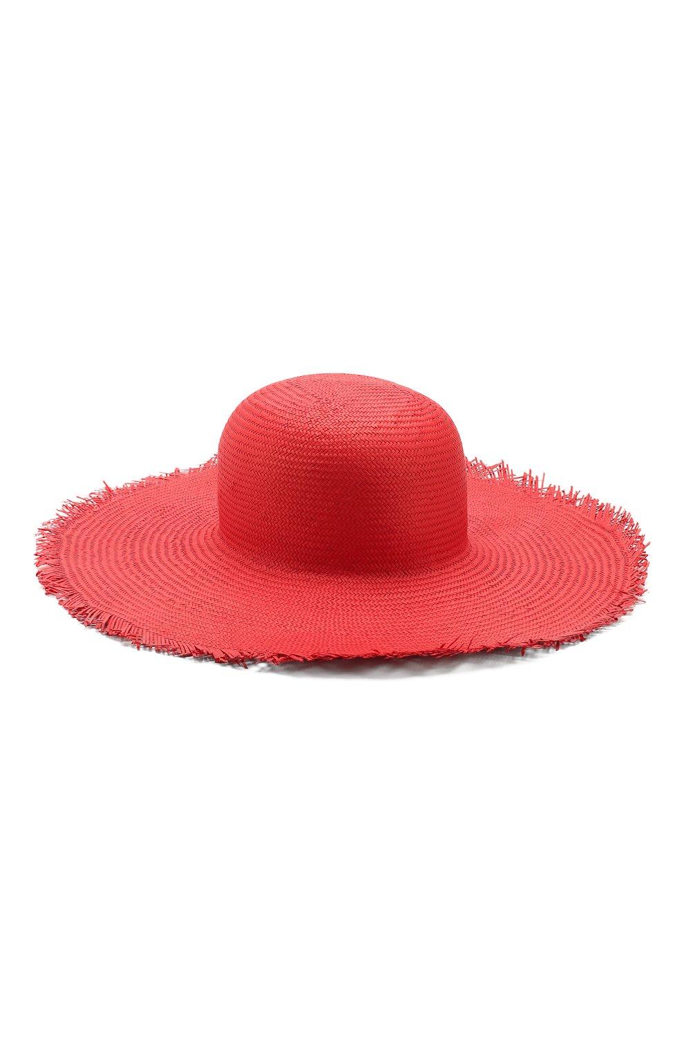 Женская соломенная шляпа brigitte LORO PIANA красного цвета, арт. FAI6010 | Фото 2