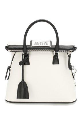 Женская сумка 5ac mini MAISON MARGIELA белого цвета, арт. S56WG0082/P3030 | Фото 1