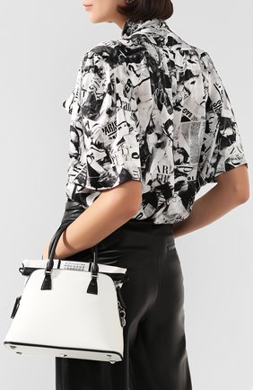Женская сумка 5ac mini MAISON MARGIELA белого цвета, арт. S56WG0082/P3030 | Фото 2