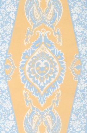 Женский платок из смеси хлопка и шелка ACNE STUDIOS бежевого цвета, арт. CA0045/W | Фото 3
