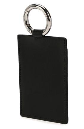Женский кожаный футляр для кредитных карт ACNE STUDIOS черного цвета, арт. CG0064/W | Фото 2