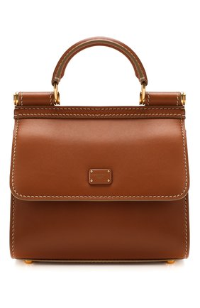 Женская сумка sicily 58 mini  DOLCE & GABBANA коричневого цвета, арт. BB6846/AV385 | Фото 1