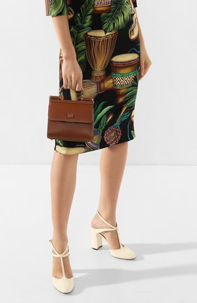 Женская сумка sicily 58 mini  DOLCE & GABBANA коричневого цвета, арт. BB6846/AV385 | Фото 2