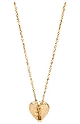 Женское колье SAINT LAURENT золотого цвета, арт. 621183/Y1500 | Фото 2