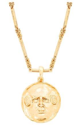 Женское колье OSCAR DE LA RENTA золотого цвета, арт. S20J032G0L | Фото 2