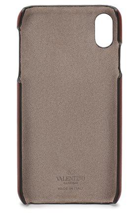Мужской кожаный чехол valentino garavani для iphone xs max VALENTINO коричневого цвета, арт. TW2P0S88/DRT | Фото 2