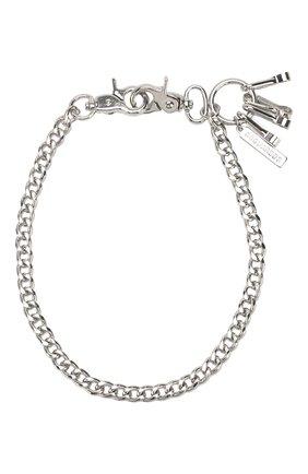 Мужского цепь DSQUARED2 серебряного цвета, арт. CHM0057/37200001 | Фото 1