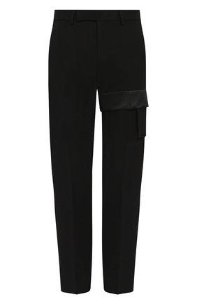 Мужской шерстяные брюки 1017 ALYX 9SM черного цвета, арт. AAMPA0101FA01 | Фото 1