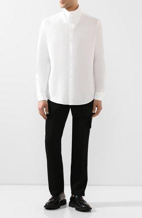 Мужской шерстяные брюки 1017 ALYX 9SM черного цвета, арт. AAMPA0101FA01 | Фото 2