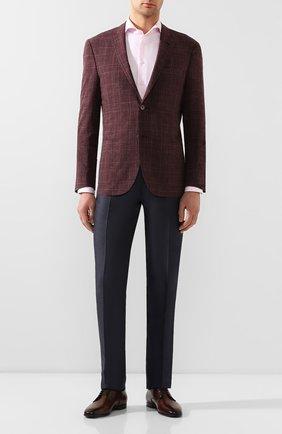 Мужская хлопковая сорочка ETON розового цвета, арт. 1000 00871 | Фото 2