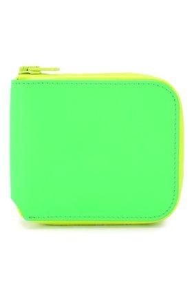 Мужской кожаное портмоне ACNE STUDIOS зеленого цвета, арт. CG0031/M   Фото 1