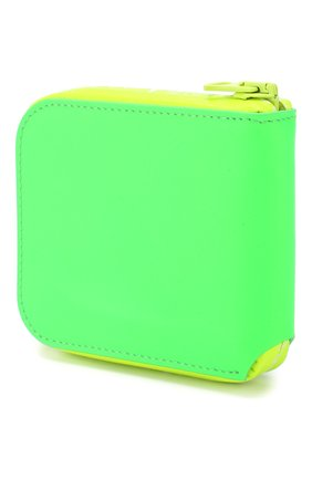 Мужской кожаное портмоне ACNE STUDIOS зеленого цвета, арт. CG0031/M   Фото 2