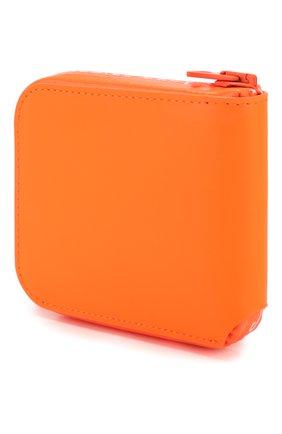 Мужской кожаное портмоне ACNE STUDIOS оранжевого цвета, арт. CG0031/M | Фото 2