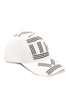 Мужской бейсболка KENZO белого цвета, арт. FA55AC201F24 | Фото 1