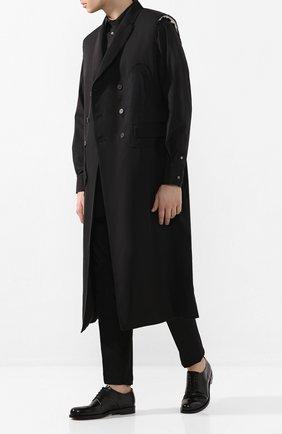 Мужской шерстяной жилет ISABEL BENENATO черного цвета, арт. UW02RS20 | Фото 2