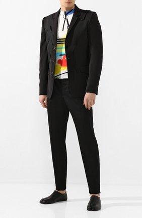 Мужской шерстяной пиджак ISABEL BENENATO черного цвета, арт. UW01RS20 | Фото 2
