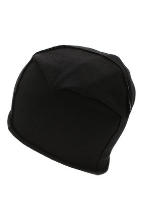 Мужская шапка ISABEL BENENATO черного цвета, арт. UK38S20 | Фото 2