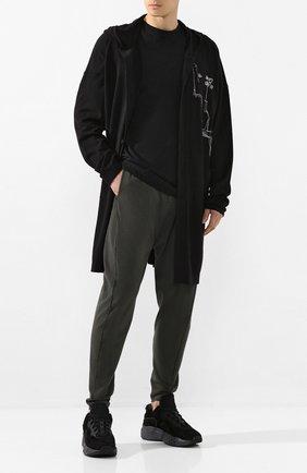 Мужской брюки ISABEL BENENATO хаки цвета, арт. UK33S20 | Фото 2