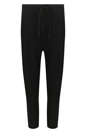 Мужской брюки ISABEL BENENATO черного цвета, арт. UK33S20 | Фото 1