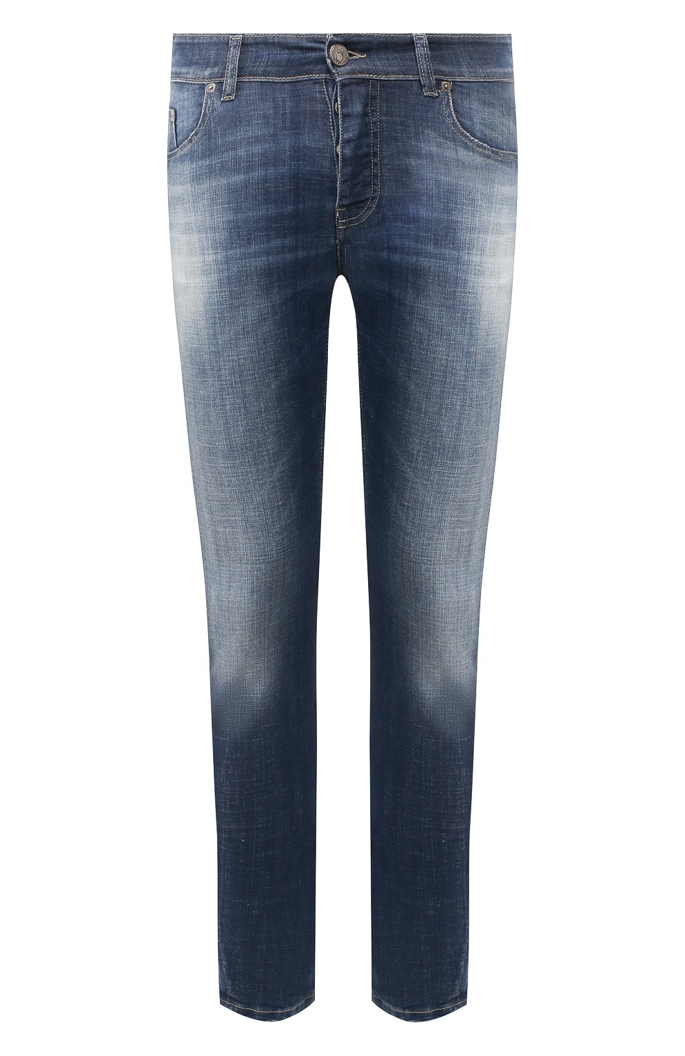 Мужские джинсы PREMIUM MOOD DENIM SUPERIOR синего цвета, арт. S20 0352740020E/BARRET | Фото 1