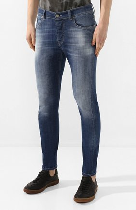 Мужские джинсы PREMIUM MOOD DENIM SUPERIOR синего цвета, арт. S20 0352740020E/BARRET | Фото 3