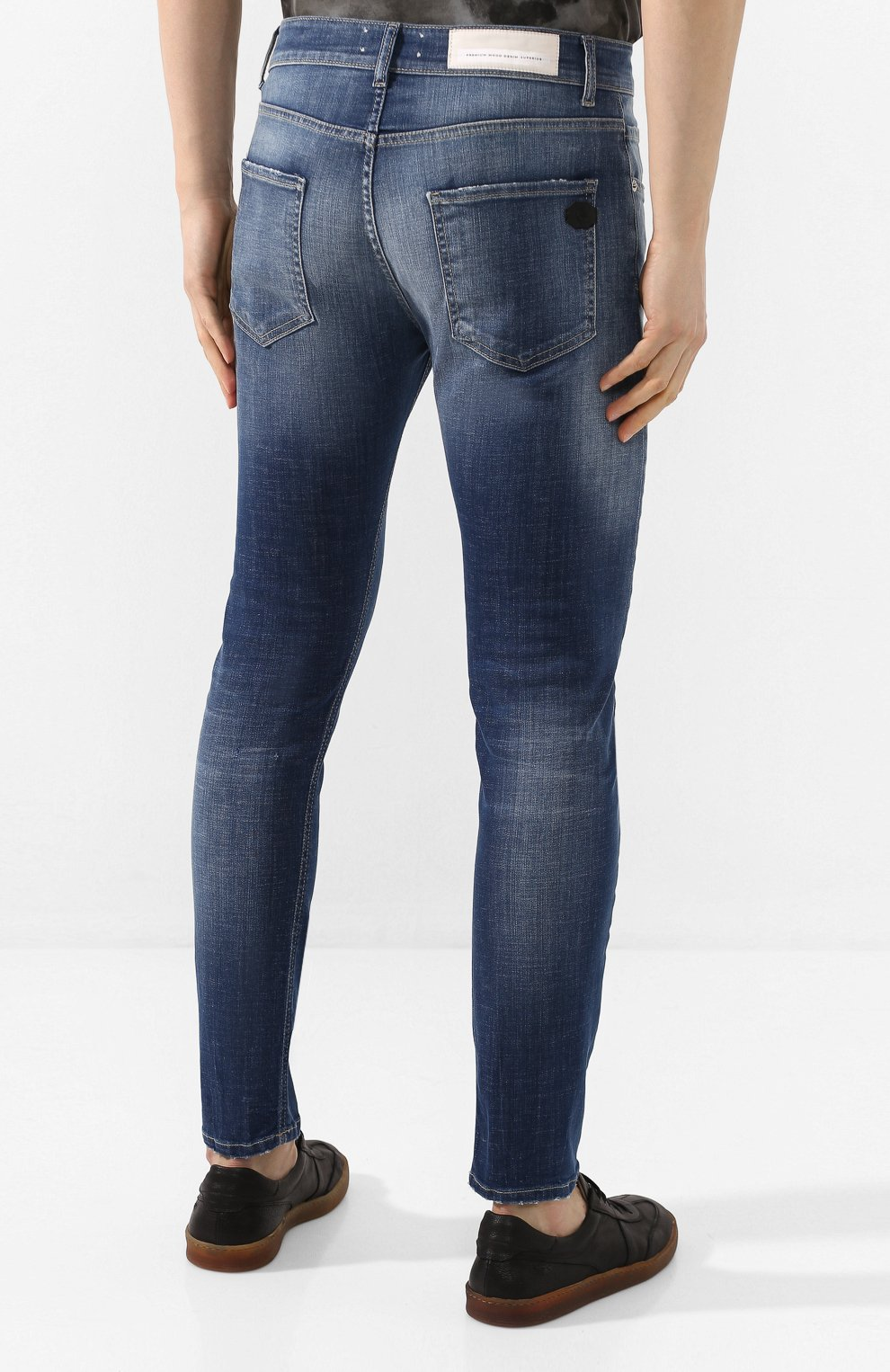 Мужские джинсы PREMIUM MOOD DENIM SUPERIOR синего цвета, арт. S20 0352740020E/BARRET | Фото 4
