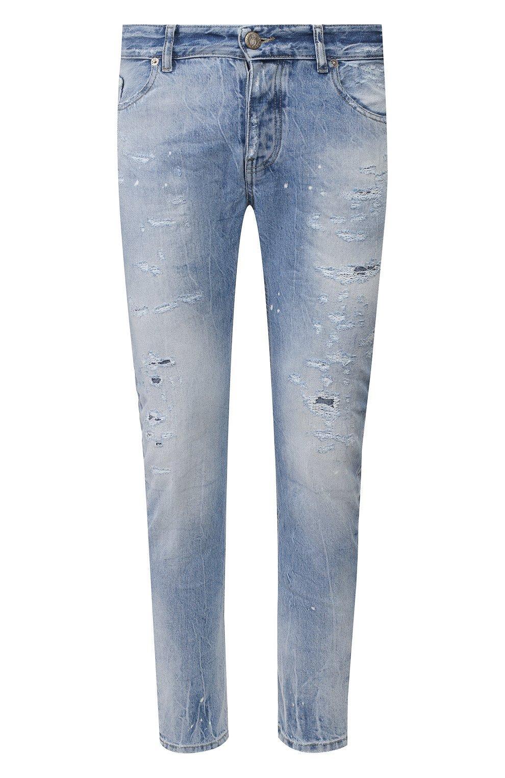 Мужские джинсы PREMIUM MOOD DENIM SUPERIOR голубого цвета, арт. S20 0352740217/BARRET | Фото 1