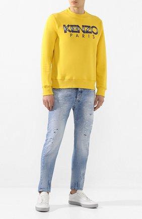 Мужские джинсы PREMIUM MOOD DENIM SUPERIOR голубого цвета, арт. S20 0352740217/BARRET | Фото 2