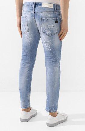 Мужские джинсы PREMIUM MOOD DENIM SUPERIOR голубого цвета, арт. S20 0352740217/BARRET | Фото 4