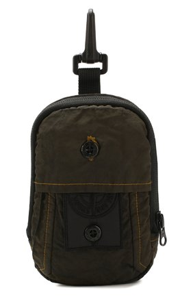 Мужская текстильная сумка STONE ISLAND хаки цвета, арт. 721990420 | Фото 1