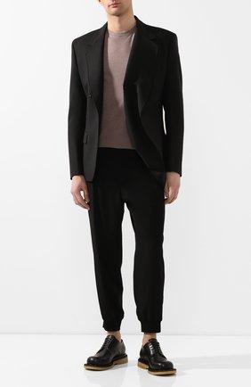 Мужской шерстяной пиджак Y/PROJECT черного цвета, арт. BLAZ28-S18 F107 | Фото 2