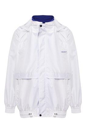 Мужская куртка Y/PROJECT белого цвета, арт. JACK64-S18 F121 | Фото 1